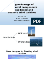 Tech Seminar on Wind turbines