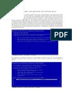 Manual Para Crear Particiones Del Disco Duro