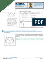 Additional Ellipse-circle Problems - March_12_2015 - Alain Villaseca