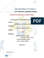 Control de Calidad Hccp (Conserva de Pescado)