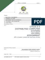 DCOMS Assignment 2015