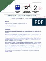 Practica 1  Síntesis de Furanos. Obtención de furfural