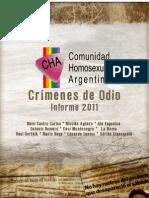 Informe Crimenes de Odio 2012