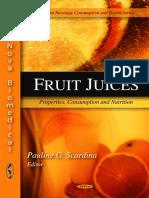 Fruit Juices Properties
