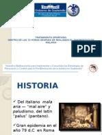 PRESENTACION COLABORADORES VOLUNTARIOS MALARIA