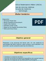 Semiología Del Dolor Toraxico