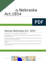 kansas-nebraska act,1854