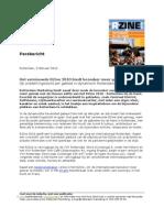 Persbericht - Het Vernieuwde RZine 2010 biedt bezoeker meer gemak