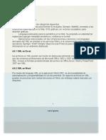 Resumen Archivos XML