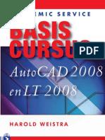 Basiscursus AutoCAD 2008