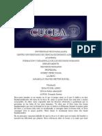 Universidad de Guadalajara Aprende  ETICA PARA AMADOR ENSAYO