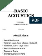 Lecture 11 (Akustika Dasar)