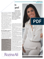 Rozina Ali - Mail on Sunday 17 May 2015