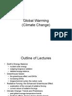 global warmming in usa