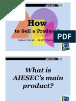 AIESEC GIP sales