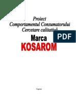 Cercetare Calitativa Kosarom