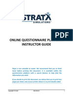 Questionnaires Instructor