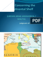 Libya vs Malta CS Case