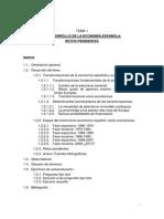 El Desarrollo de la Economía Española