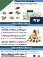 allergyayurvedicremedies