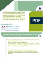 Autorisations d Exercice en France Pour Les Ressortissants Europeens Et Titulaires d Un Diplome Paramedical Europeen