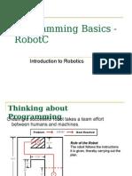 01Robotics - Programming Basics