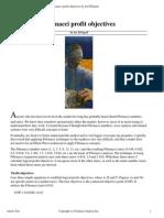 DiNapoli J.-fibonacci Profit Objectives