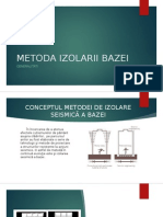 Metoda Izolarii Bazei-prezentare