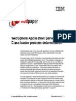 WebSphere Application Server V6.1 Classloader Problem Determination