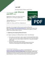 Lab3 Wireshark Ethernet ARP v6.01