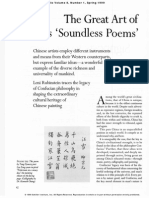 The Great Art of China's 'Soundless Poems'