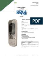 Nokia 6303i Classic RM-638 Service Manual L1L2 v1.0