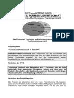 Management in Freizeit- und Tourismuswirtschaft