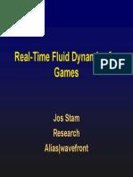 Fluid Mechanics in 3d Games