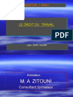 Droit Du Travail Zitouni