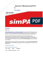 Harga Paket Internet Telkomsel SimPATI Terbaru 2015