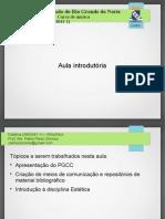 Aula 01 (apresentação e contextualização)