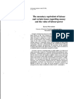 The monetary equivalent of labour and certain issues-Economie Applique.pdf