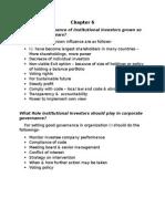 Corporate Governance - Christine Mallin - Role of institutional Investors in Corporate Governance.doc