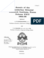 Annals of the Bhandarkar Oriental Research Society Vol. 14, 1935-36