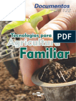 Tecnologias Para a Agricultura Familiar