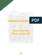 Unidad Didactica Comunicacion Segundo Grado 2