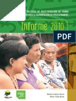 Informe Tierras 2010