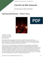 Quimbanda_Kimbanda – Parte II_ Exus _ Ocultismo e Caminho Da Mão Esquerda