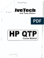HP QTP Live Tech