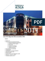 Raport Guvernanta Corporativa_2011