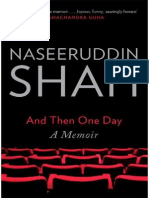 And Then One Day a Memoir - By Naseeruddin Shah