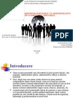 Comparatie - 4 Functii Administrative