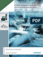 Catalogo PM21.2011 (Ingles) - Motion Control (Sinamics S120, 1PH7, 1PH8, Sinumeric)
