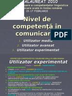 Proba de Evaluare a Competenţelor Lingvistice De